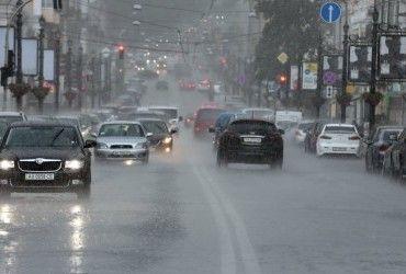 В Киеве завтра пройдет дождь с грозой, температура до +22°