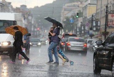В Киеве сегодня пройдет дождь, днем температура до +27°