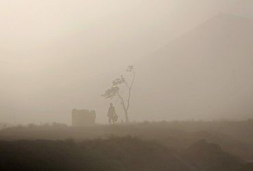 В Индии более 30 человек погибли в результате дождей и пылевой бури
