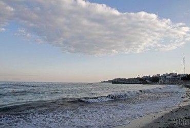 В акваторіях Чорного і Азовського морів завтра очікується шторм
