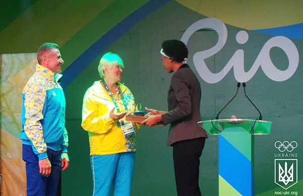 В Ріо відбулася одна з головних предстартових церемоній за участю збірної України / noc-ukr.org