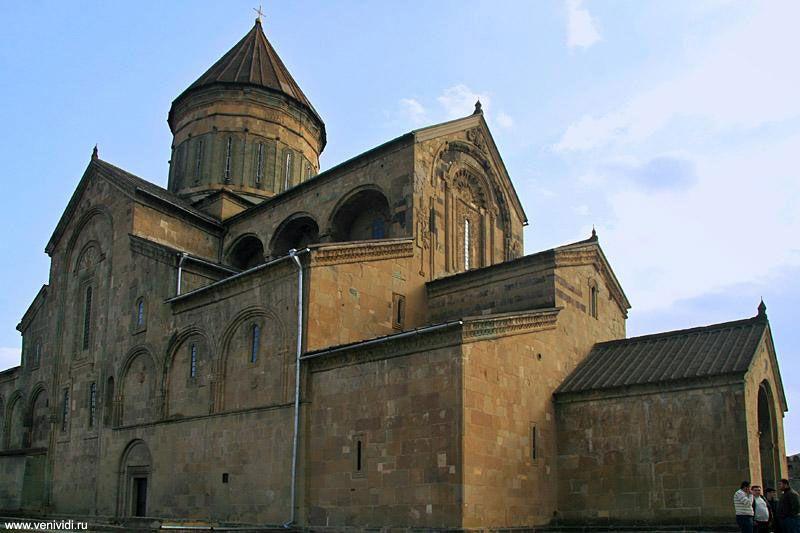Кафедральный собор Светицховели в древнем городе Мцхете. Фото: www.georgia.orexca.com
