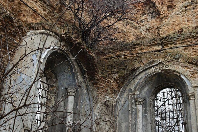 Синагога в Сокале (Львовская обл.). Фото: io.ua