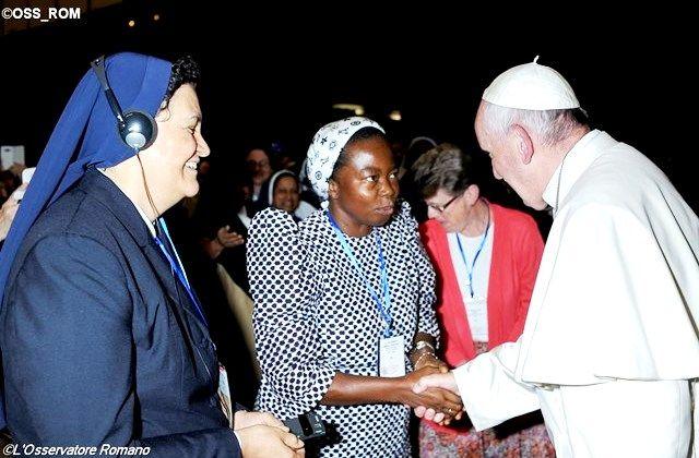 Встреча Папы с главными настоятельницами монашеских общин - OSS_ROM