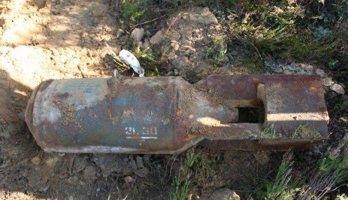 Также было найдено 2 артиллерийские снаряды / Фото cityreporter.ru
