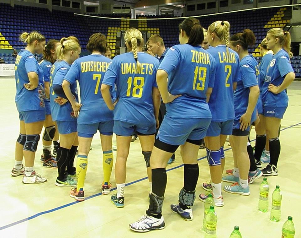 Гандбольная сборная Украины была далека до Олимпиады / handball.net.ua