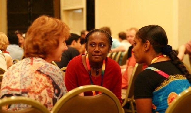 Участницы конференции. Фото: gacetacristiana.com.ar