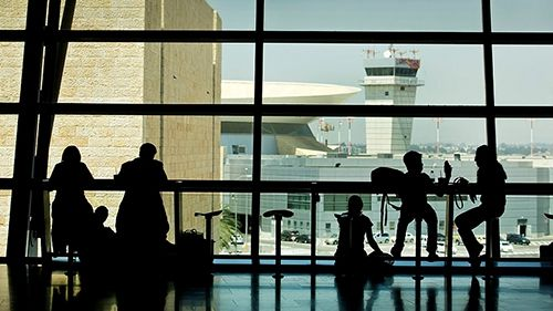 Пассажирский терминал аэропорта. Фото: Moshe Shai/FLASH90