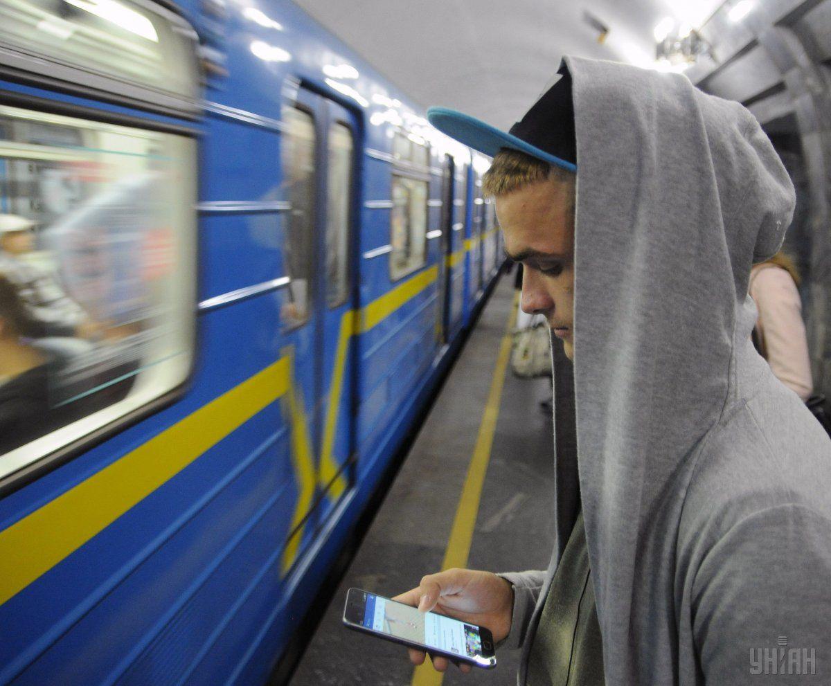 В Киеве сегодня могут ограничить вход на три станции метро / фото УНИАН