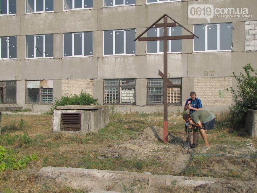 Здесь будет храм. Фото 0619.com.ua