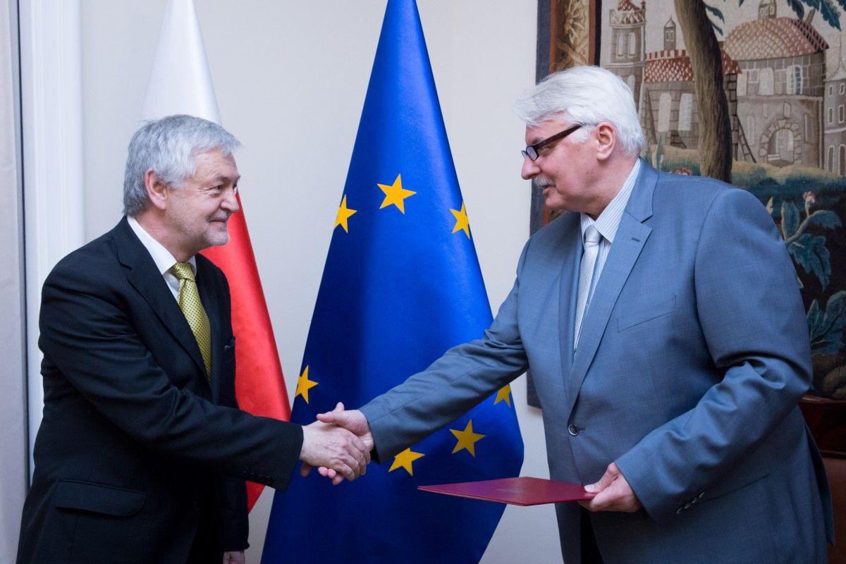 Ян Пєкло є відомим польським публіцистом / Фото msz.gov.pl