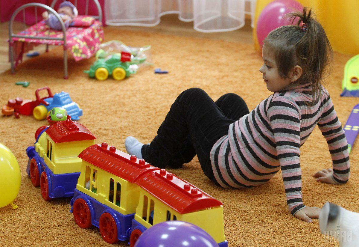 Вдалося створити додатково понад 500 місць для київських дошкільнят / Фото УНІАН