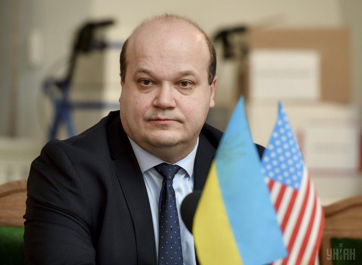 Чалый подчеркнул, что вернулсяв Украину с глубокой благодарностью своим соотечественникам / фото УНИАН