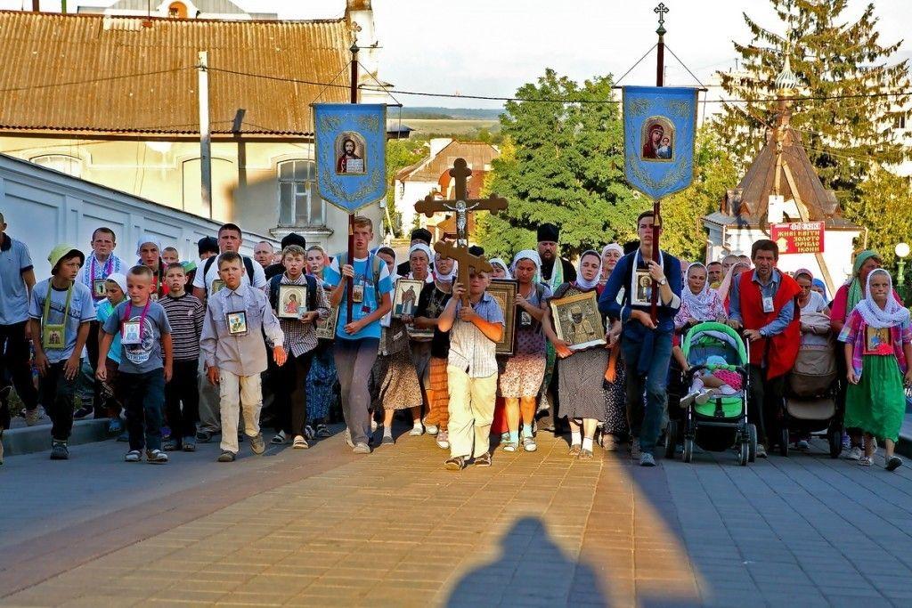 Крестный ход из г. Здолбунова. Фото: church.ua