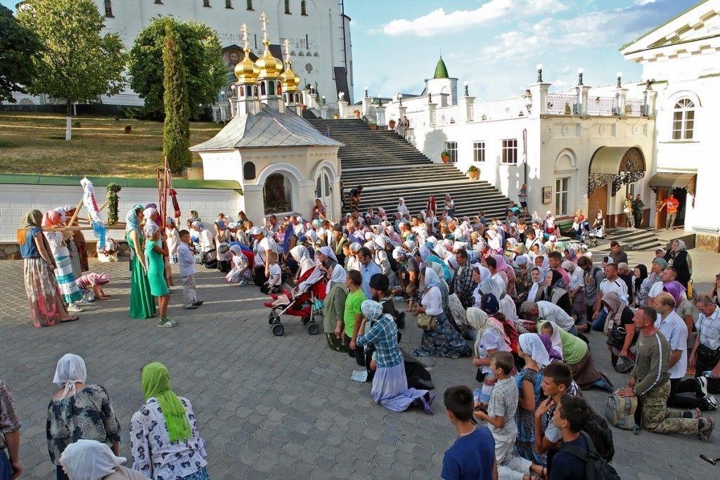 Крестный ход из Николаевки (Ривненская обл.). Фото: church.ua