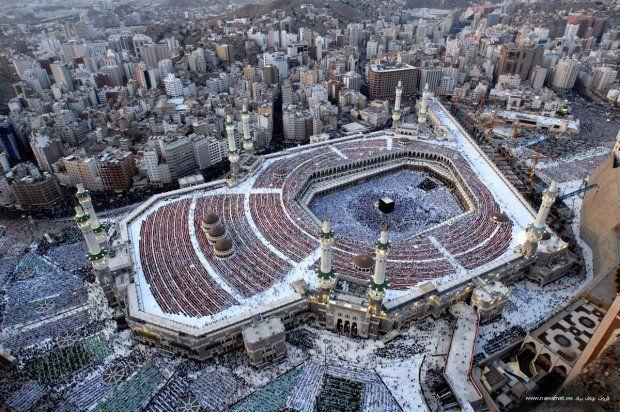 Аль-Харам с высоты птичьего полета. Фото: umma.ua