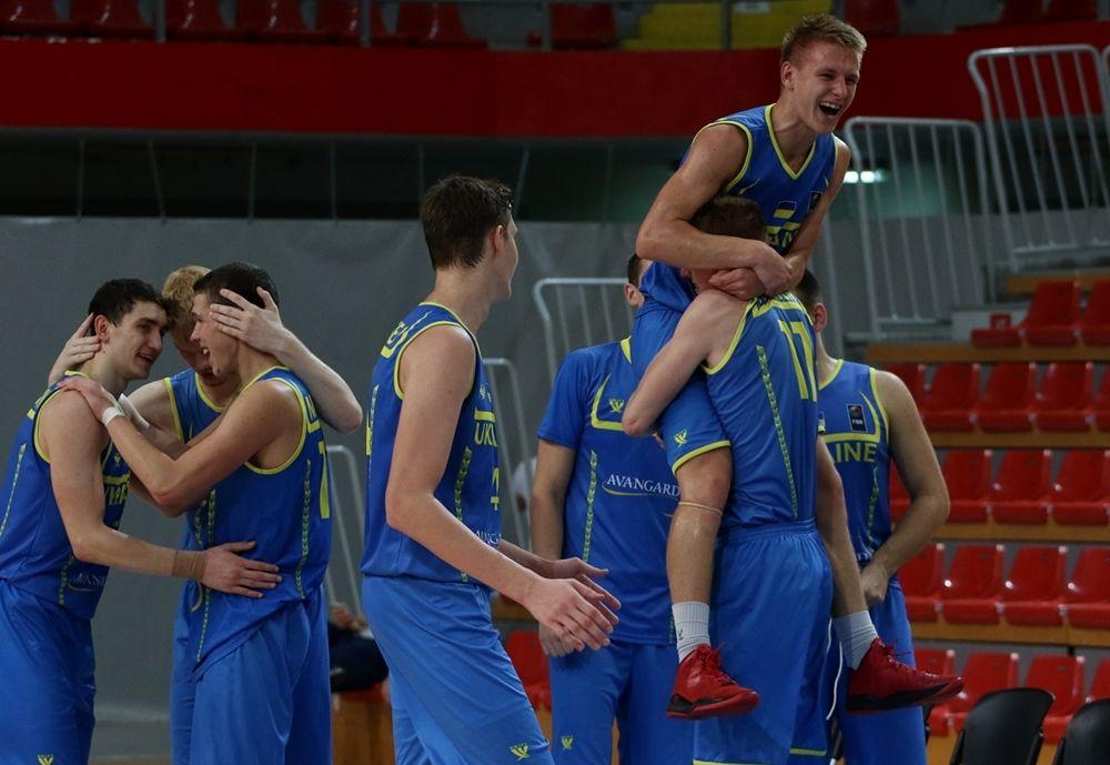 Украина вышла в Дивизион А / FIBA Europe