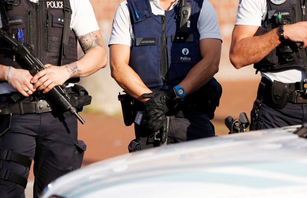 полиция бельгия шарлеруа / REUTERS