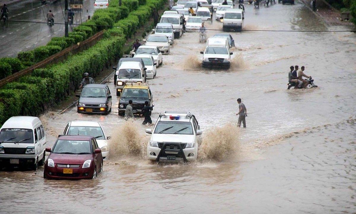 пакистан карачі повінь