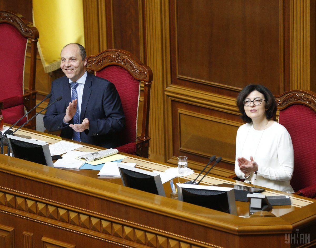 За це рішення проголосували 260 народних депутатів із 374 / фото УНІАН