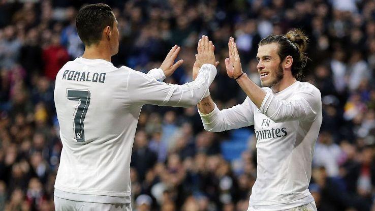"""Роналду и Бэйл не попали в заявку """"Реала"""" / espnfc.com"""