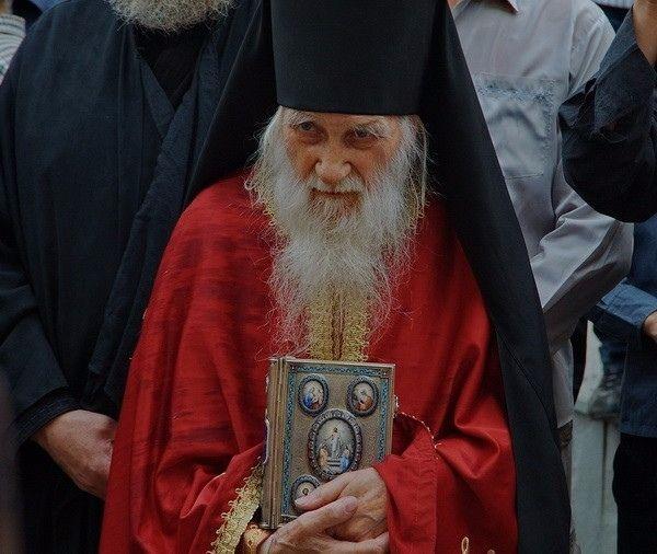 Игумен Свято-Пантелеимонова монастыря на Афоне схиархимандрит Иеремия (Алехин)