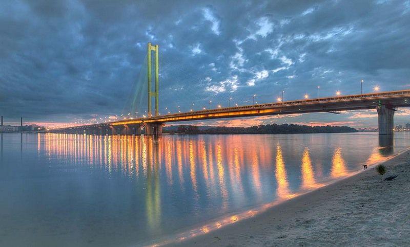 Движение по Южному мосту в Киеве частично ограничат на 20 дней / cultkiev.com