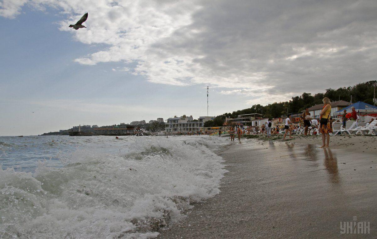 На пляжах Одеси рекомендують не купатися / Фото УНИАН