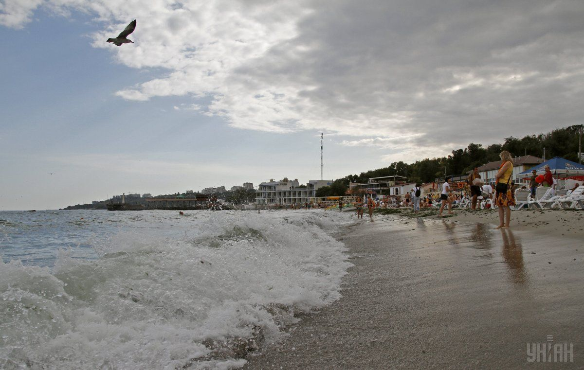 Odesa beach. Photo from UNIAN