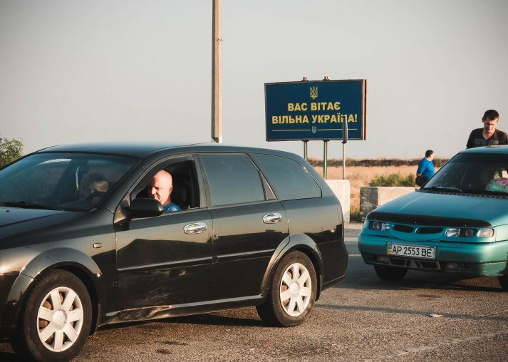 The administrative border between mainland Ukraine and Russia-occupied Crimea / krymsos.com