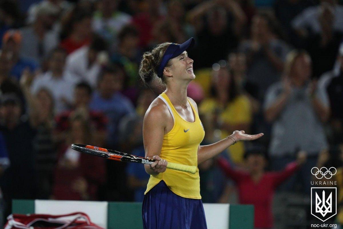 Элина свитолина поднялась в рейтинге лучших теннисисток мира / Фото www.facebook.com/olympicua