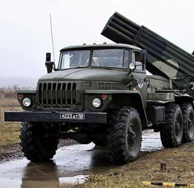 """У ніч на сьогодні бойовики використовували """"Град"""" вперше за кілька місяців / фото mynewsonline24.ru"""