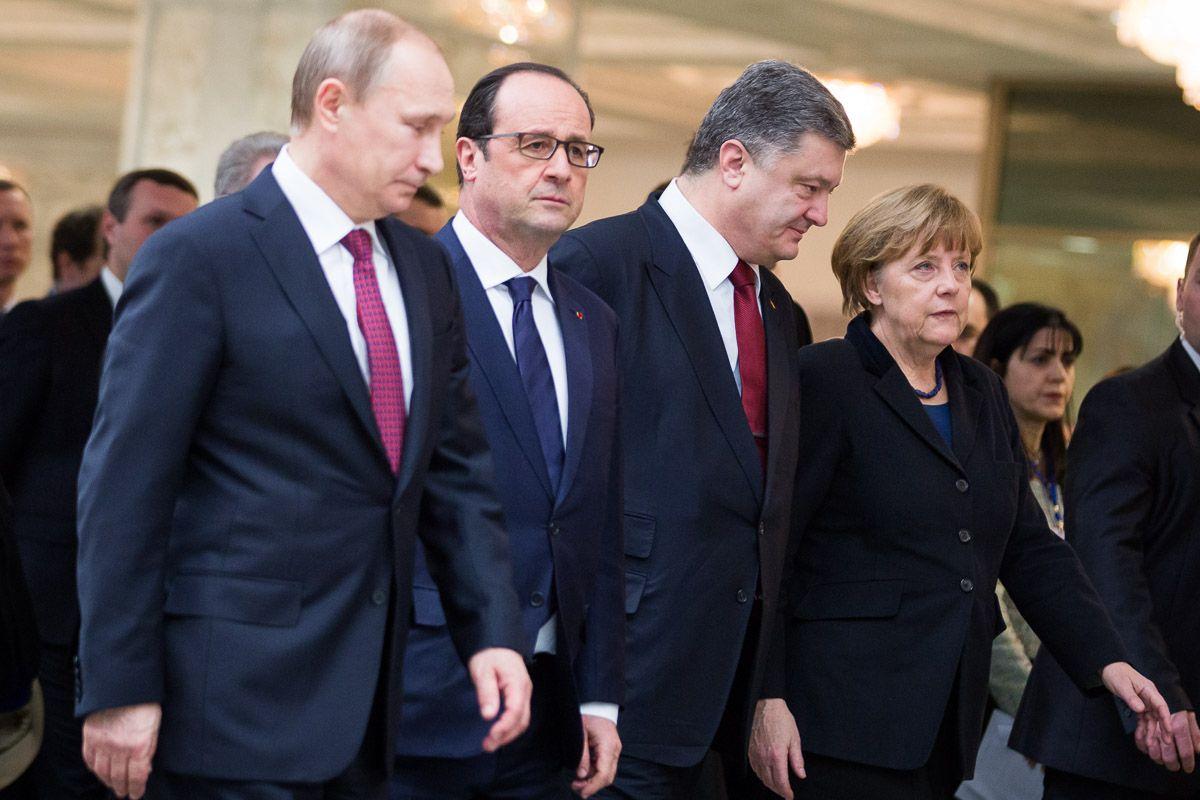 Три года Минским договоренностям – не юбилей, но повод поговорить об их выполнении / фото undeskanzlerin.de