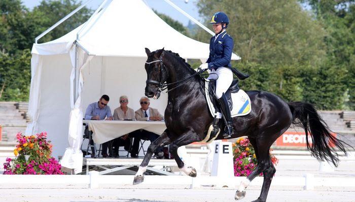 Логутенкова и Дон Грегориус заняли 41-е место / diamond-horse.com