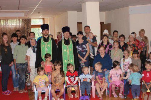 Община храма с детьми переселенцев из зоны АТО