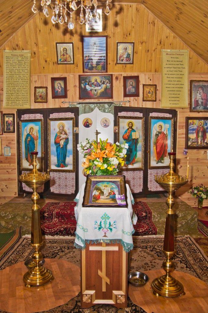 Внтуреннее убранство храма Иоанна Воина