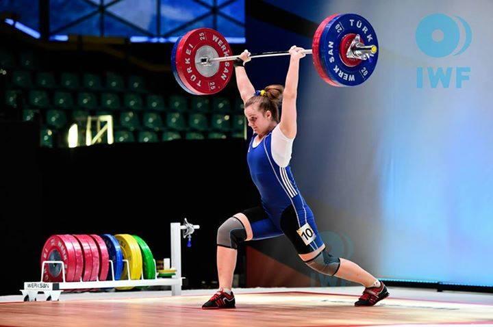 Ирина Деха не смогла выиграть медаль / НОК Украины