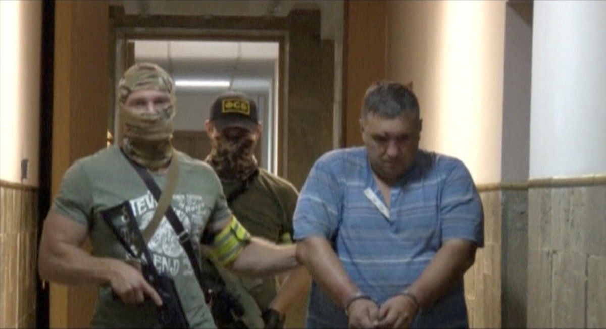 Задержанный Евгений Панов / REUTERS