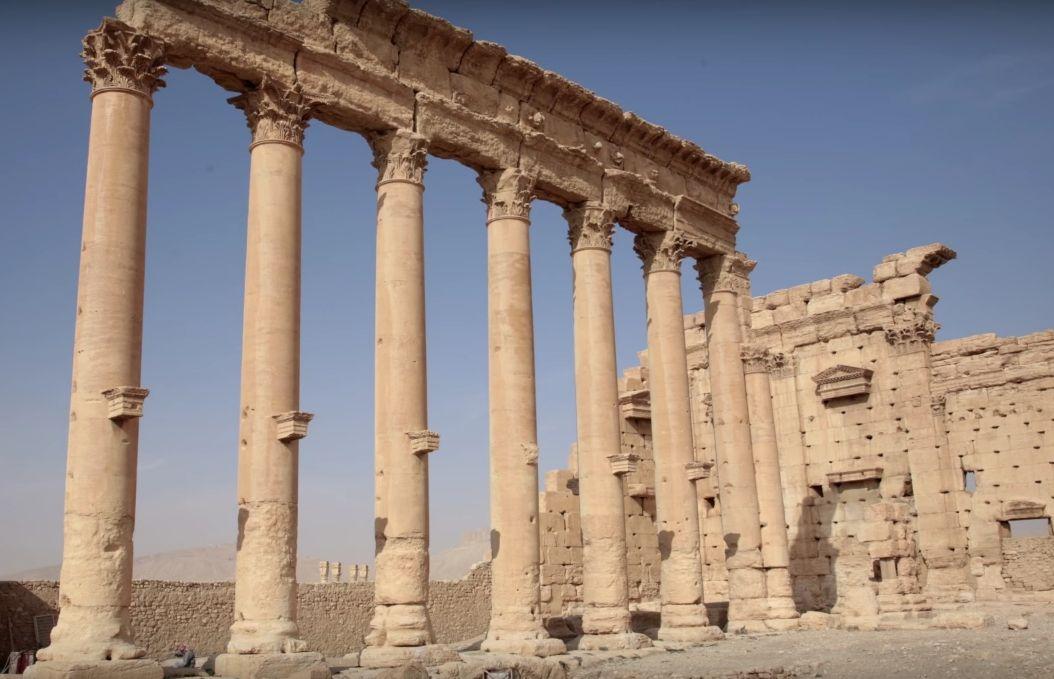 Храм Бела, зруйнований бойовиками ІДІЛ. Фото: bublbe.com
