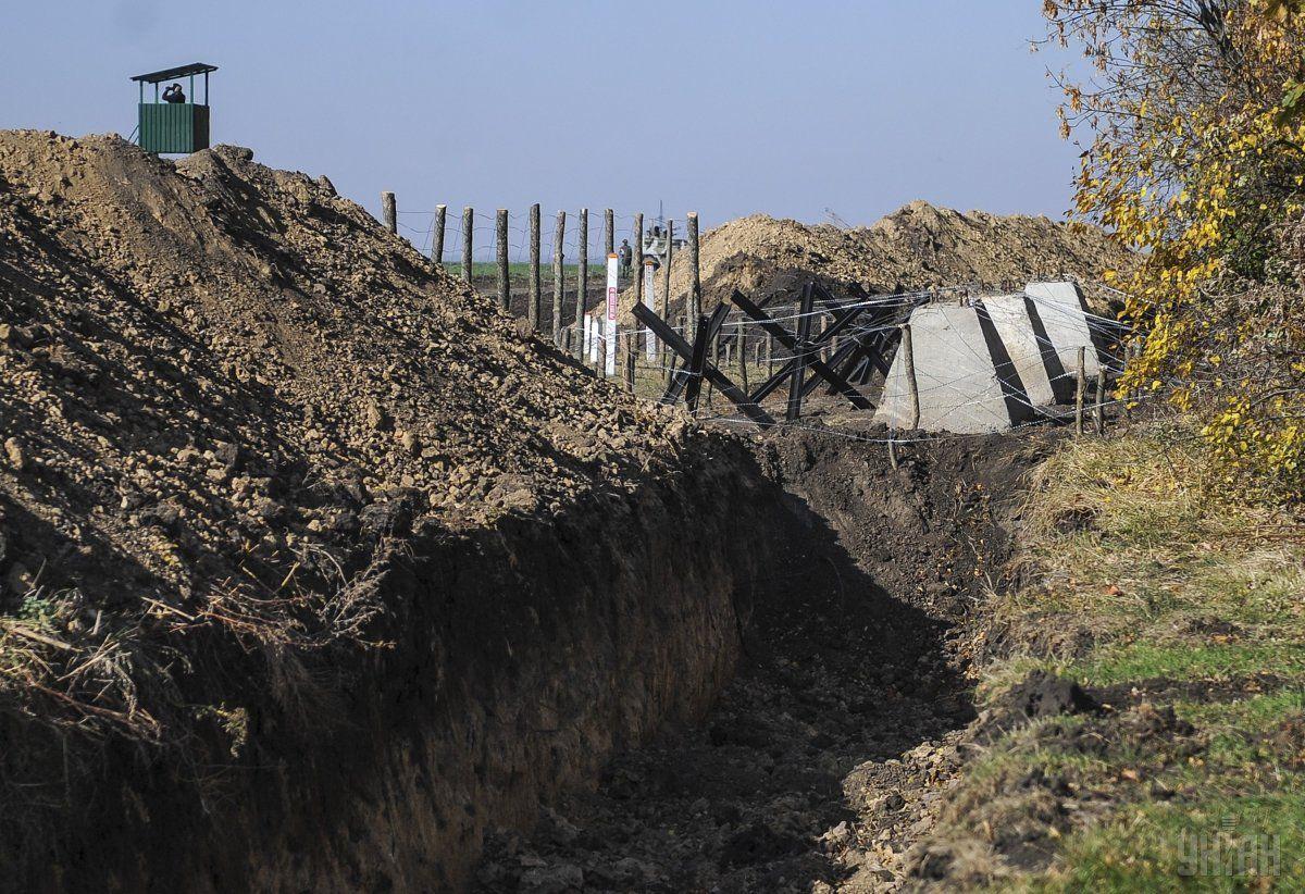 Эксперты провели повторную проверку работ по обустройству границы / фото УНИАН