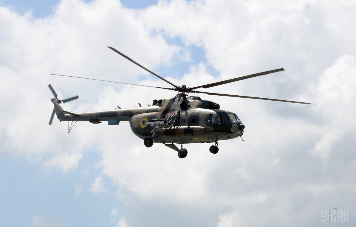 На Ривненщине разбился вертолет Ми-8 / фото УНИАН