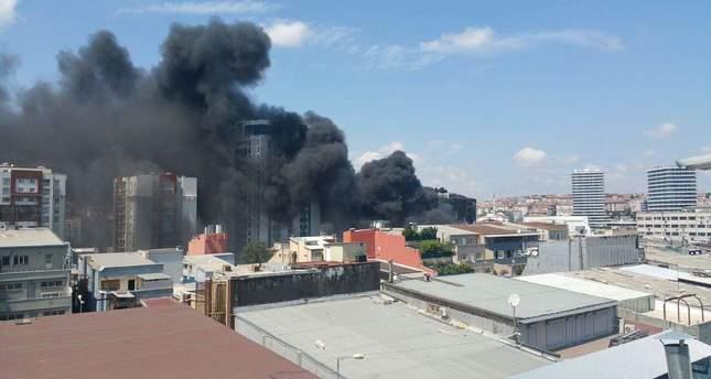 пожар / dailysabah