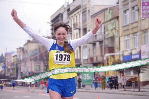 Боровская пришла к финишу первой среди украинок / spartaklutsk.at.ua