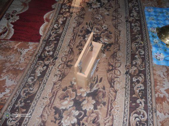 Скринька для пожертв. Фото: charivne.info