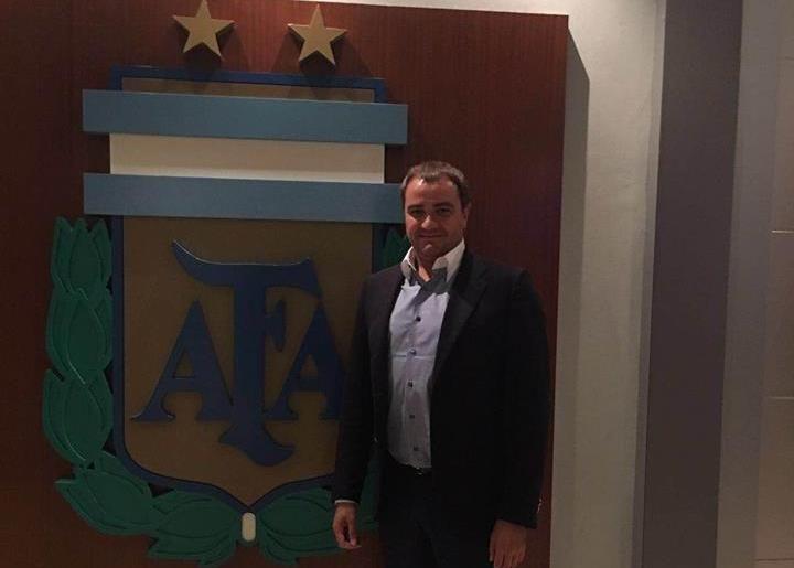Павелко посетил офис АФА / facebook.com/andriy.pavelko