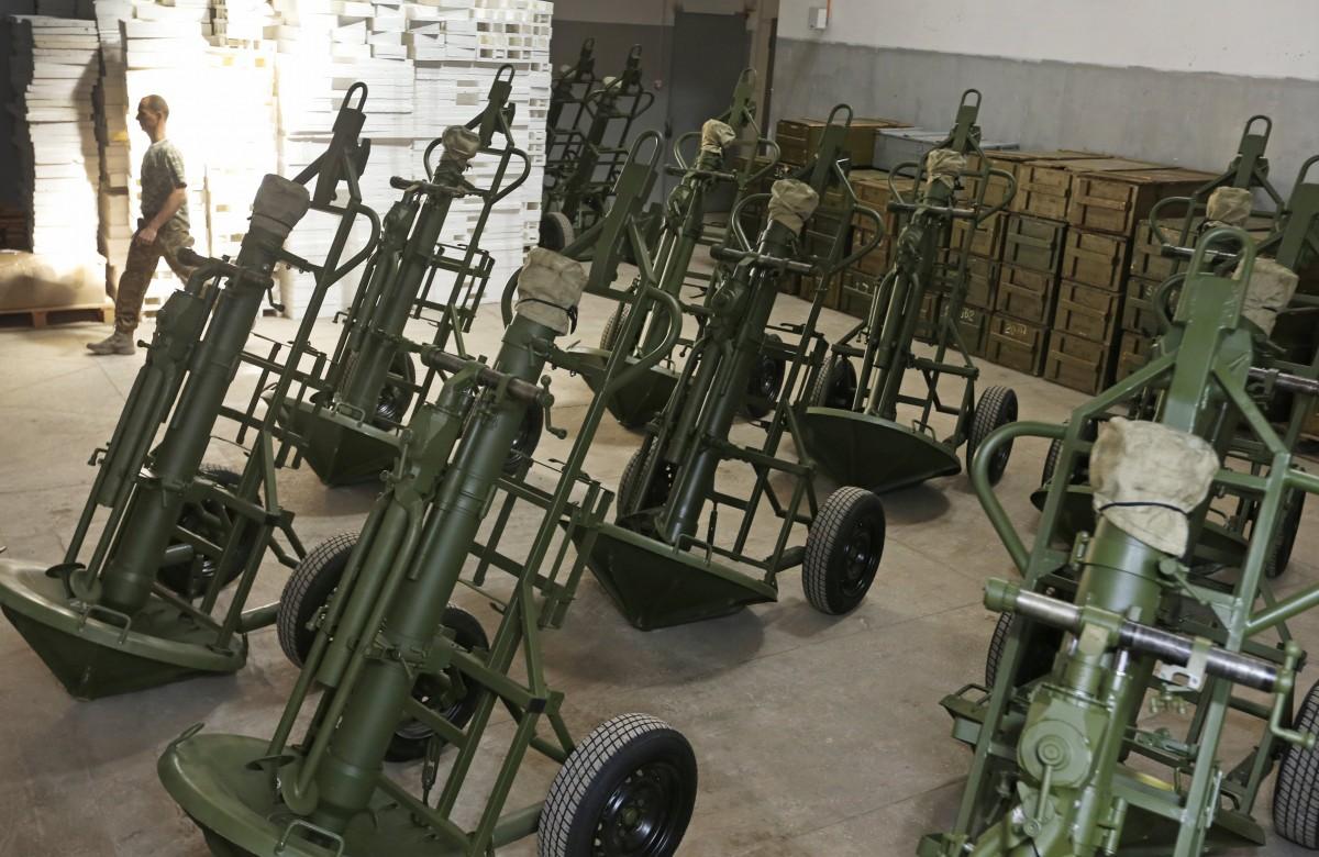 """В Міністерстві оборони назвали причину вибуху міномета """"Молот"""" на Рівненському полігоні / УНІАН"""