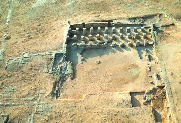 На месте раскопок. Фото: islam.com.ua