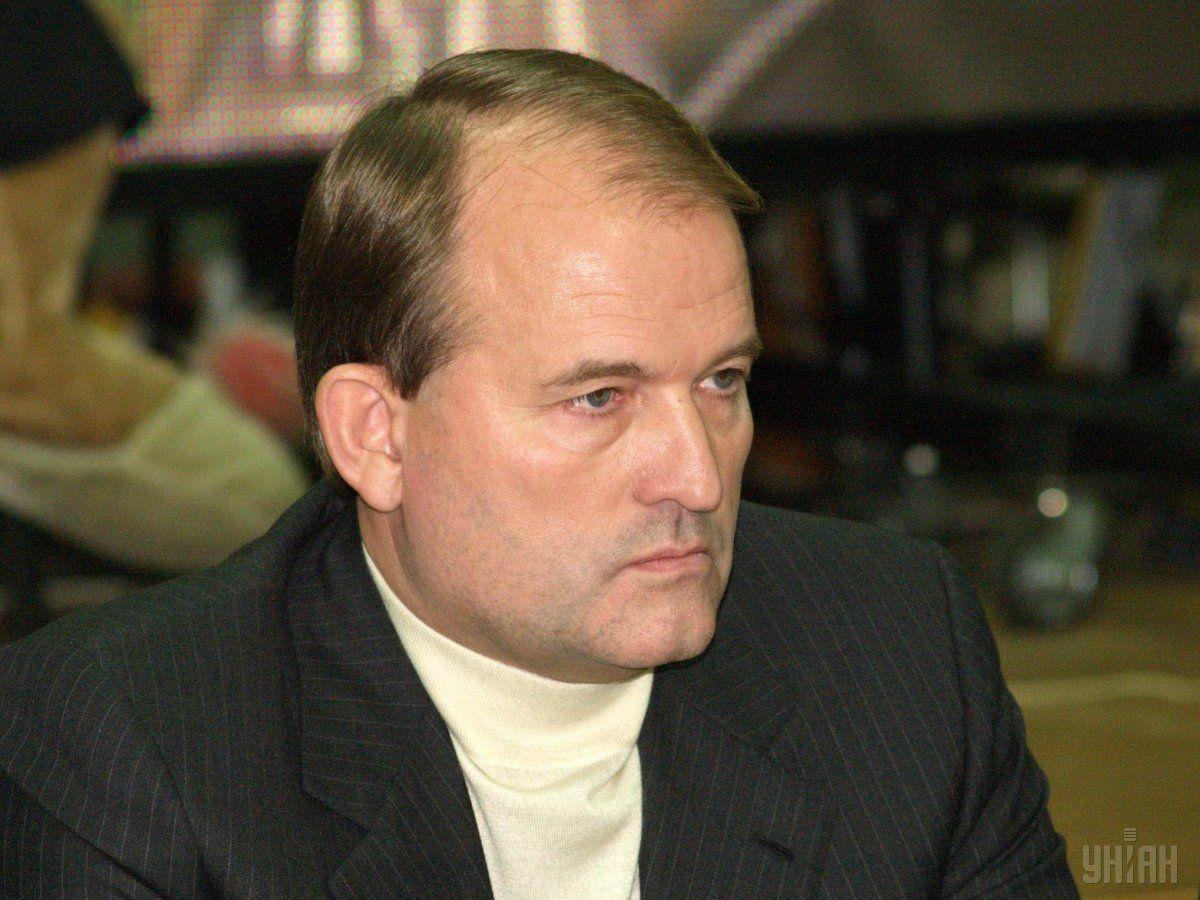 Виктор Медведчук прокомментировал участие РФ в войне на Донбассе / фото: УНИАН
