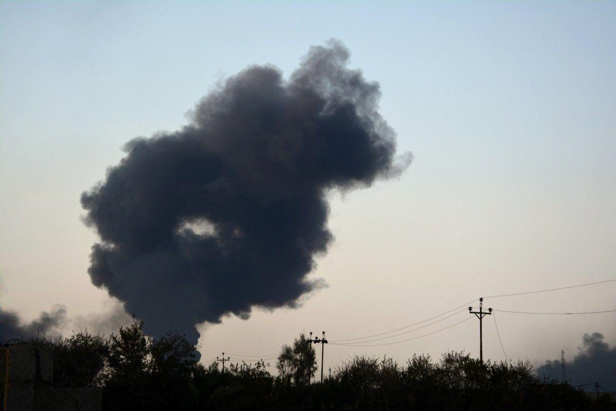 В Сирии разбился самолет армии Асада / REUTERS