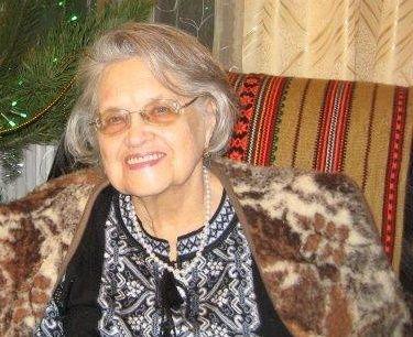 Вдова священника Вера Мороко